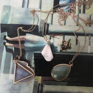 Lot of 3 Pendant Necklaces